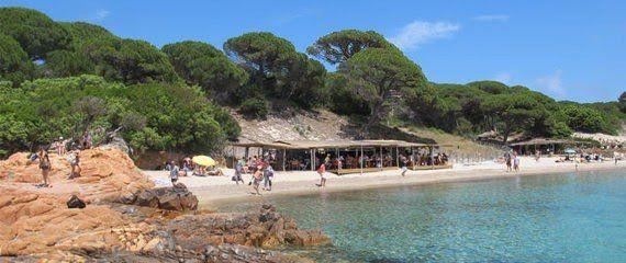 """Corsica / Camping La Riviere & strandtent """"I Pini"""" – Toffecamping"""