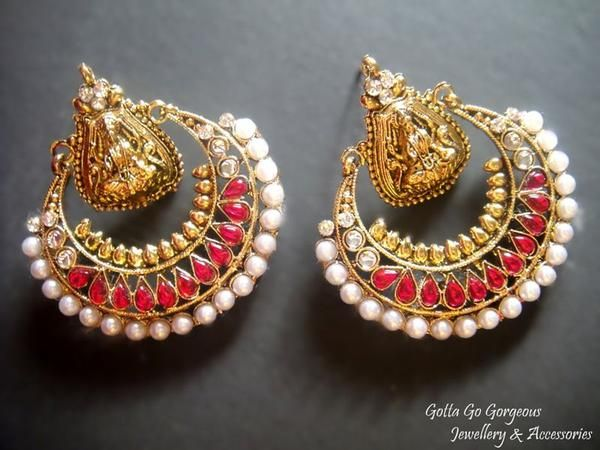 Beautiful Raamleela Earrings - cooliyo.com