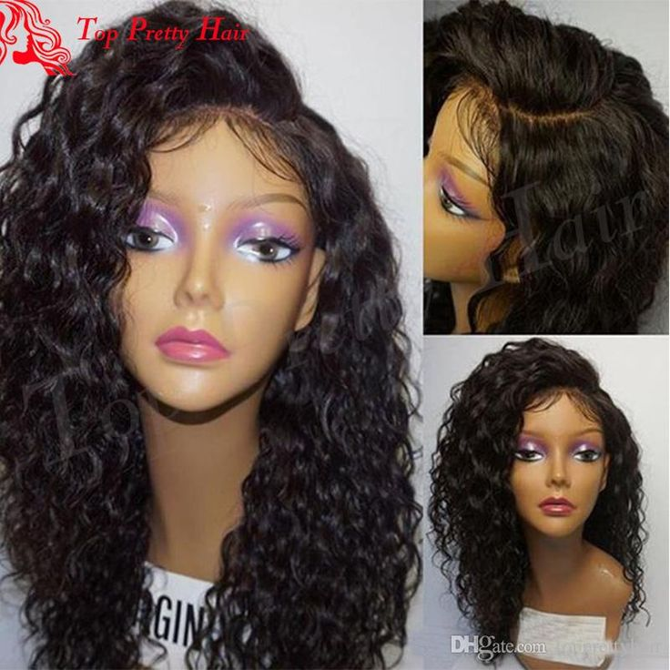 Virgin Hair Curly Long Black Lace Front Wigs For Women Bleached Knots Human Hair Glueless Brazilian Lace Front Curly Wigs Curly Long Black Lace front Wigs Lace front Curly Wigs Curly Wigs Online with 435.42/Piece on Topprettyhair's Store | DHgate.com