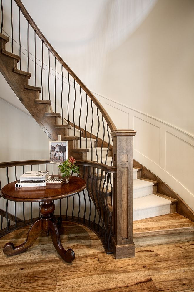 Best Staircase Railing Railing Is Alder Shaker Post With Oil 400 x 300