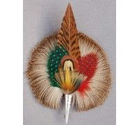 Colorful Feather with Deer Fur