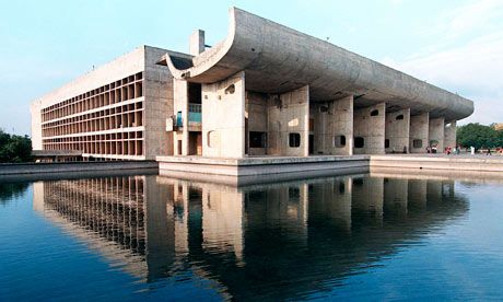 The Chandigarh Legislative Assembly building, one of the city's many buildings designed by Le Corbusier. Chandigarh was designed by Le Corbusier over 60 years ago and is an amazing city. It is truly unique not only in India, but the world. This magnificent example of modern design by Le Corbusier is systematically being plundered and left to ruin by neglect. Please read the following article http://www.guardian.co.uk/artanddesign/2011/mar/07/chandigarh-le-corbusier-heritage-site and sign…