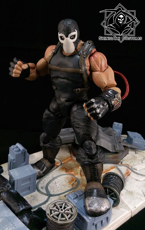Bane - Inspired by Mikel Janin (Batman) Custom Action Figure