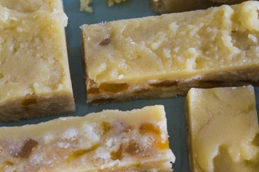 Apricot slice with brown sugar icing recipe, Bite – Sunbury Park in Central Otago is where some of New Zealand's finest apricots are grown, and their dried apricots are amazing. I got this recipe from Mrs Sunbury Park herself, and in my opinion it's the most delicious apricot slice. – foodhub.co.nz