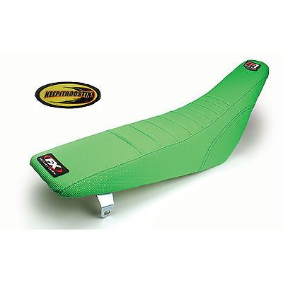 Fx FP1 Pleat Green Seat Cover for Kawasaki Kx 250f Kx450 2009-2011 Factory Effex