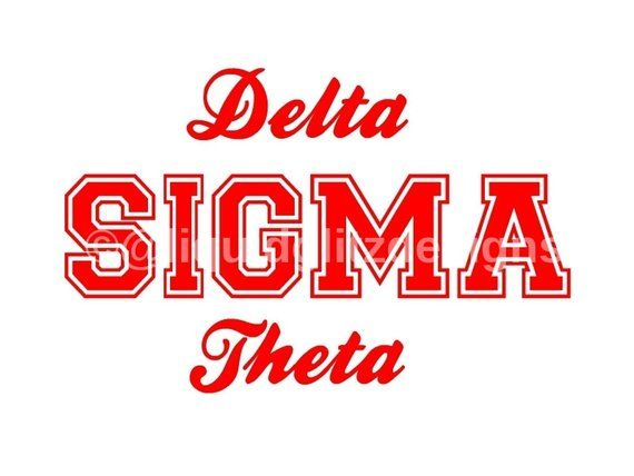 Delta Sigma Theta Svg Png Jpg Delta Sigma Theta Gifts Theta Delta Sigma Theta