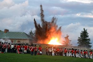 Experience the sights and sounds of the fort under siege at this War of 1812 National Historic Site. Choose your side! The kids will love it!