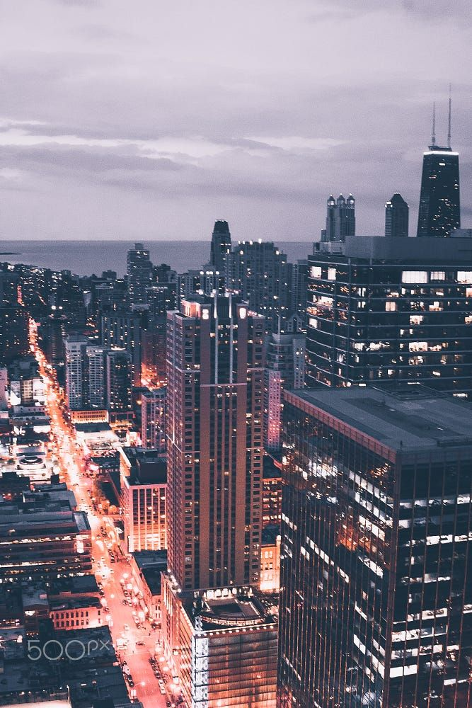 The Chicago Night by Johnny Fan. Pinned by #CarltonInnMidway - www.carltoninnmidway.com