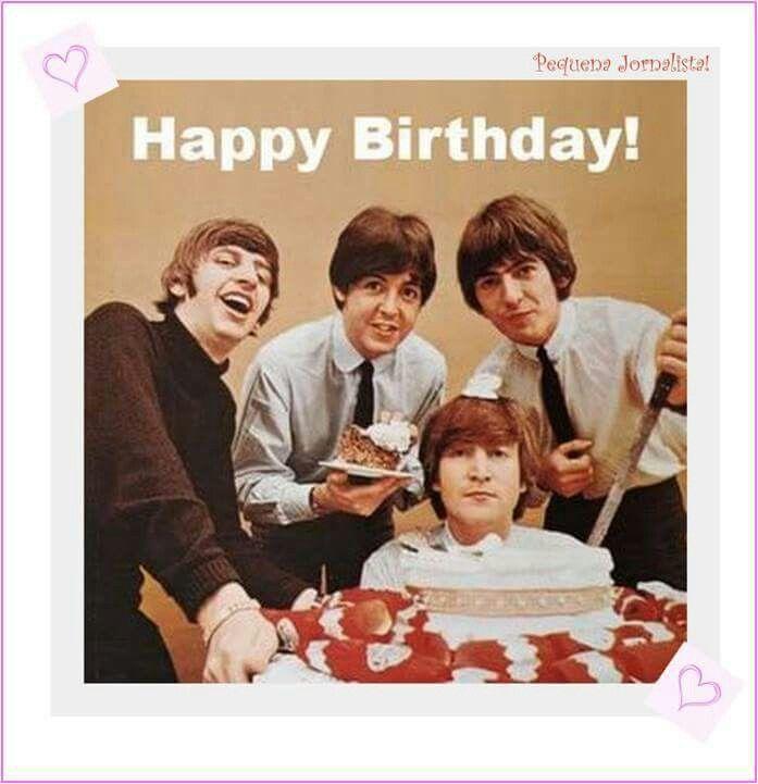 56 best birthday images – Beatles Birthday Cards