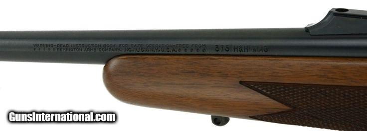 """Remington Model 700 .375 H&H Magnum (R21508)"