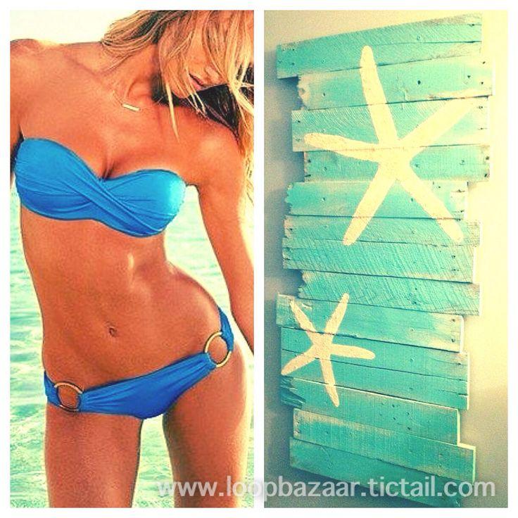 Bikini blu royale