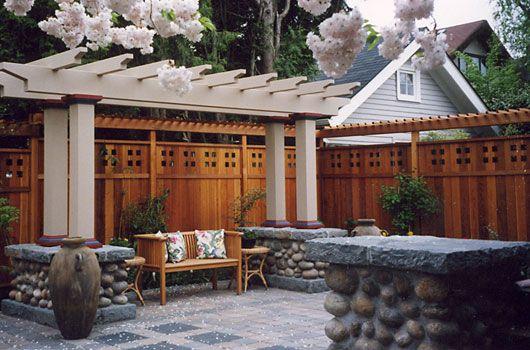 Drake 39 S 7 Dees Landscaping Garden Center Portland Or Richey Residence Craftsman Fences