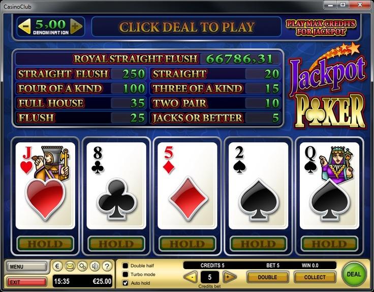video poker online casino