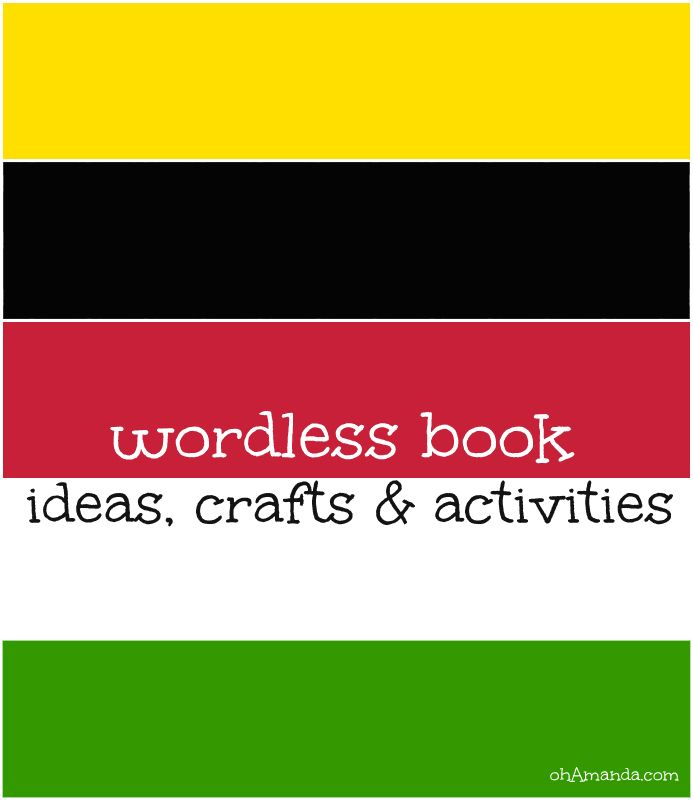 Wordless Book: ideas, crafts & activities, really good ideas: soccer ball, bags, heart valentines