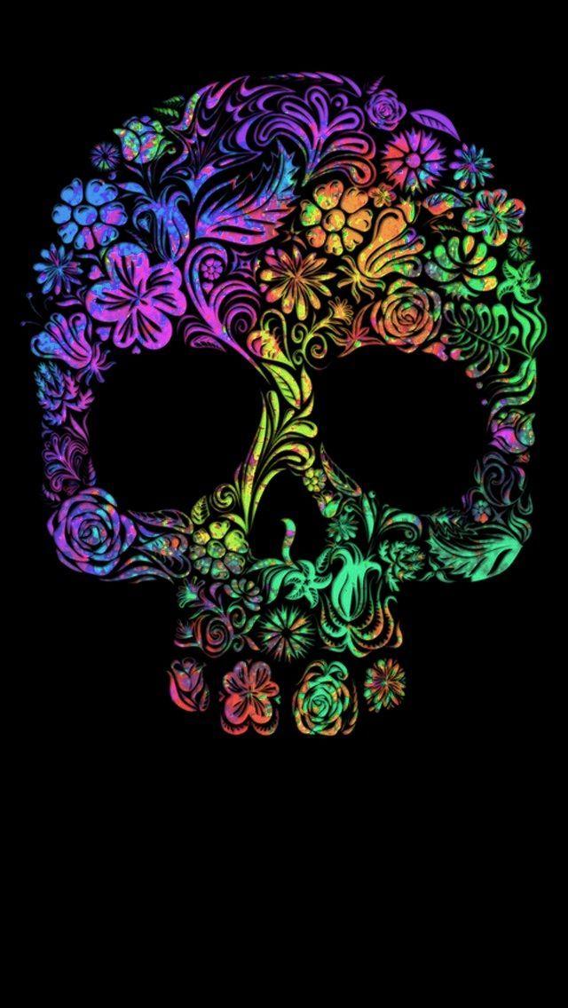Cute Girly Wallpapers Free Skull Wallpaper 181 In 2019 Skull Wallpaper Sugar Skull