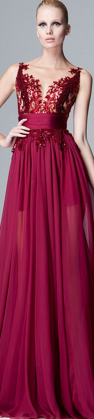 Zuhair Murad Pre-Fall Ready-To-Wear Collection 2014
