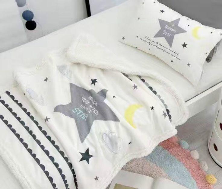 Winter Kids blanket newborn swaddle boys girls Coral Fleece blankets cobertor bebes mantas couverture polaire bebek battaniye #Affiliate