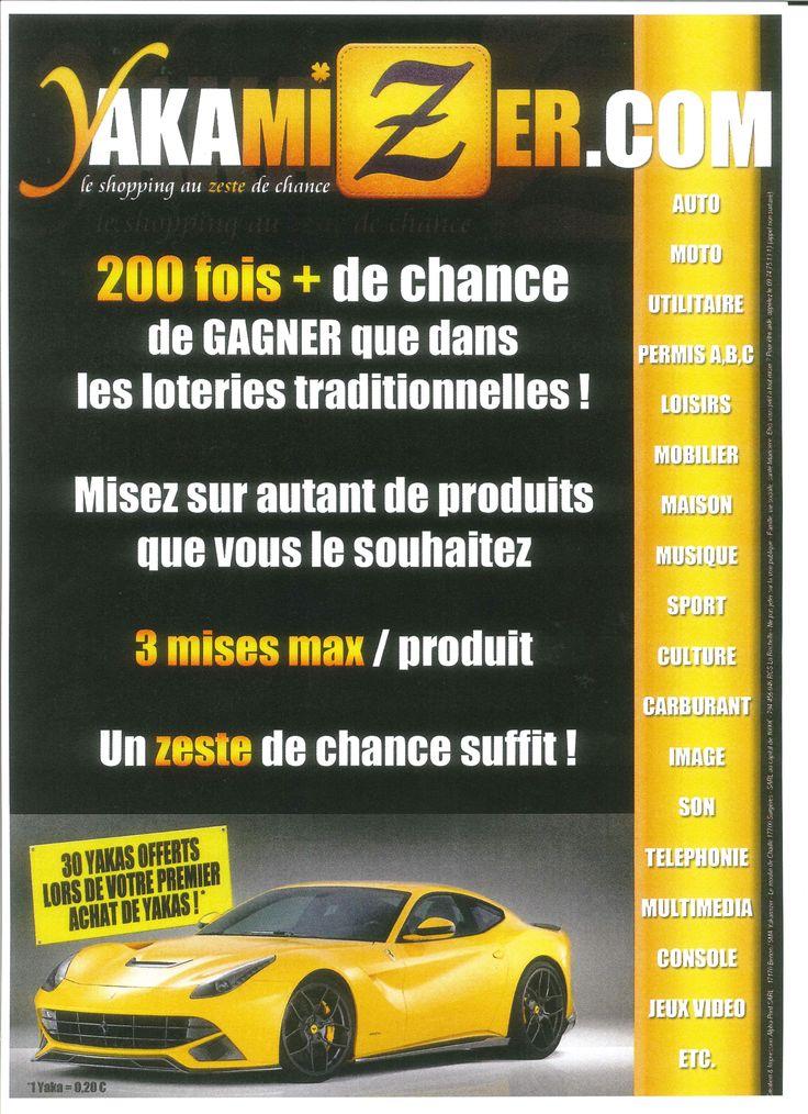 Nouveau concept de Loterie sur le Web 24/24