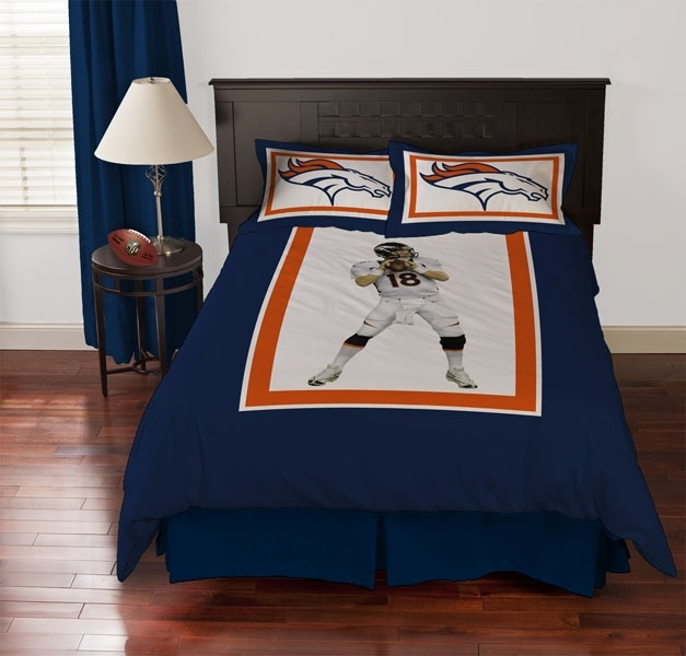 Denver Broncos Peyton Manning Bed Comforter Set