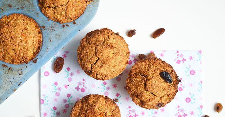 paleo zoete aardappel muffins