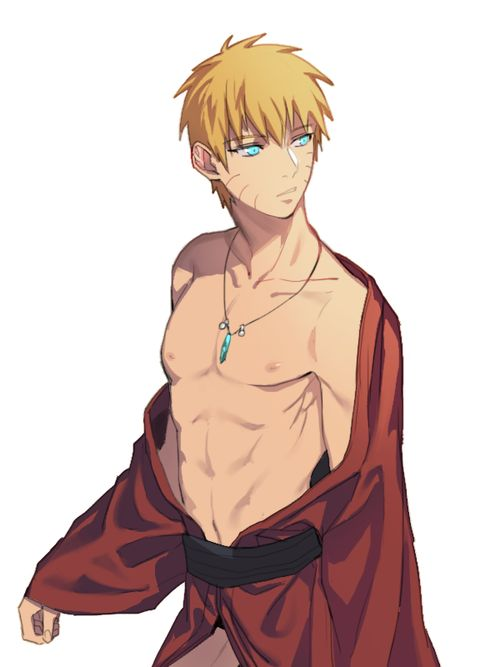 Uzumaki Naruto is just hot <3 | We Heart It #naruto #uzumaki