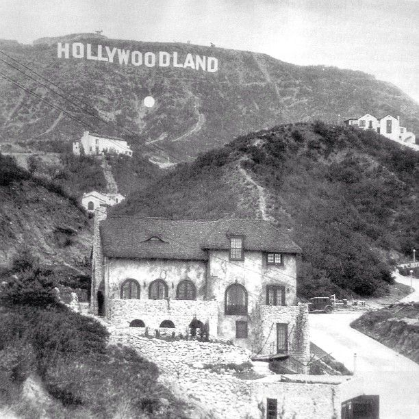 Harry Houdini's Hollywood home that still stands today.