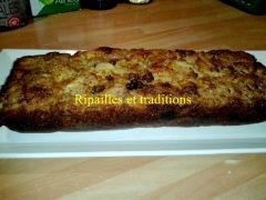 Gâteau aux pommes invisibles