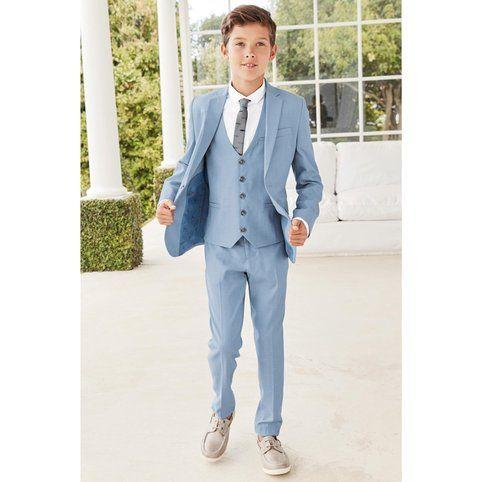 Pantalon de costume en chambray (12 mois à 16ans) garçon Next - 3Suisses