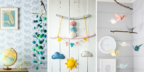 pepperpot.cz - vše o krásných věcech pro děti, miminka a náctileté a kreativním životě s nimi: DIY inspirativní kolotoče a výzdoba nad postýlku