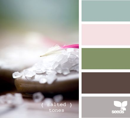 Bedroom color ideas!! Blue walls, white trim, taupe carpet, and pink and green accents!! Yes!