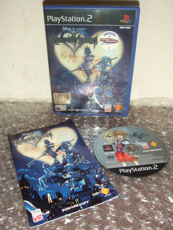 KINGDOM HEARTS - Prima Stampa - PS2 ps3 playstation - PAL ITA - Come Nuovo