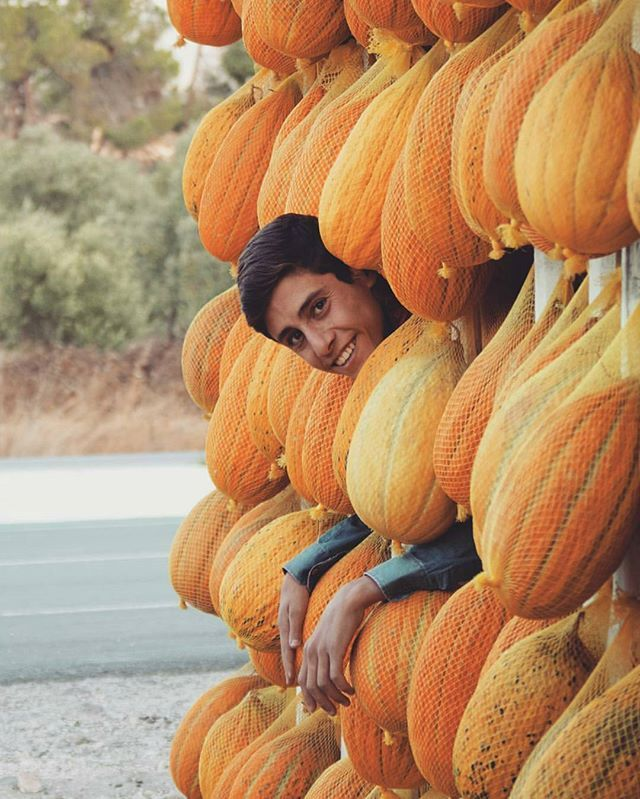 Kırkağaç is an agricultural district and known for its variety of melon. Manisa, Turkey