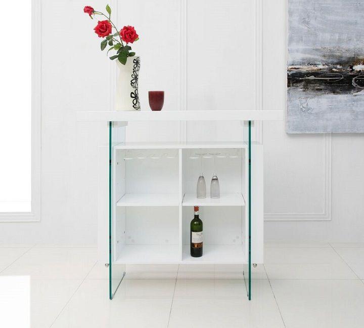 Casabianca IL-Vetro Bar Cart