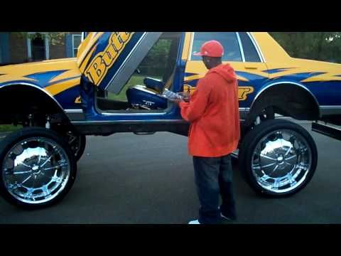 28s On Box Chevy With Airbags Butterfinger Boxx Donks