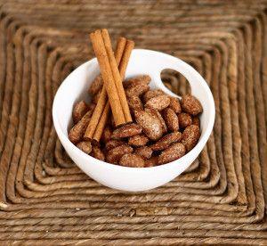 cinnamon roasted almonds roasted nuts almond recipes everyday food ...