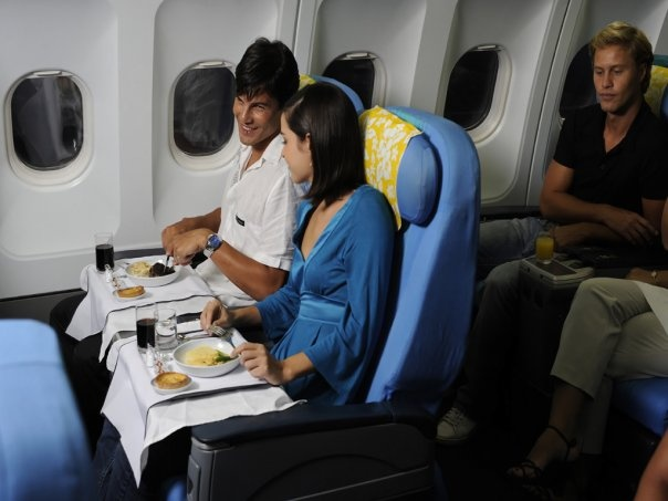 Air Tahiti Nui Poerava Business Class