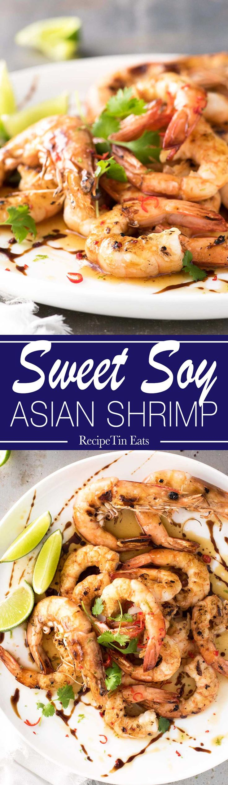 Sweet Soy Asian Shrimp | These are AMAZING!!! Browned butter with sweet soy is a KILLER COMBO!!!