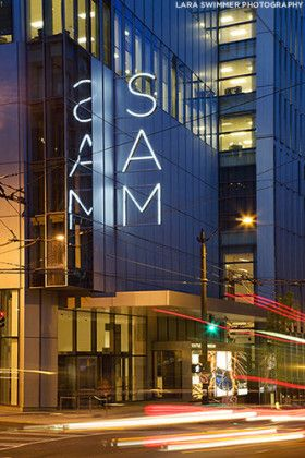 SAM - the Seattle art museum. My fav place in Seattle. Last time I was there there was a whole Degas exhibit. BLISS!