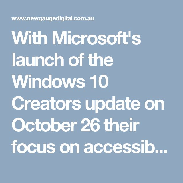 With Microsoft's launch of the Windows 10 Creators update on October 26 their focus on accessibility, immersive user experiences and beautiful hardware they have moved squarely into the realm of human-centered computing. This update is the culmination of Microsoft's changing messaging from straight-laced, business-centric language to inspiring, soaring rhetoric worthy of Jobs, with the product demos to back it.