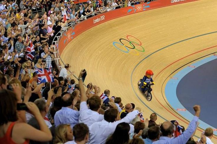 A scene from the Velodrome