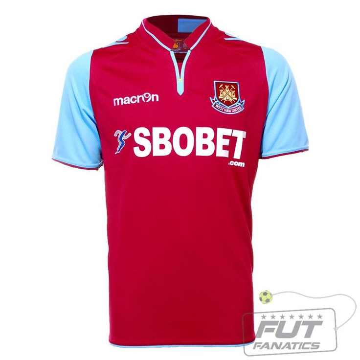 Nova Camisa do West Ham!