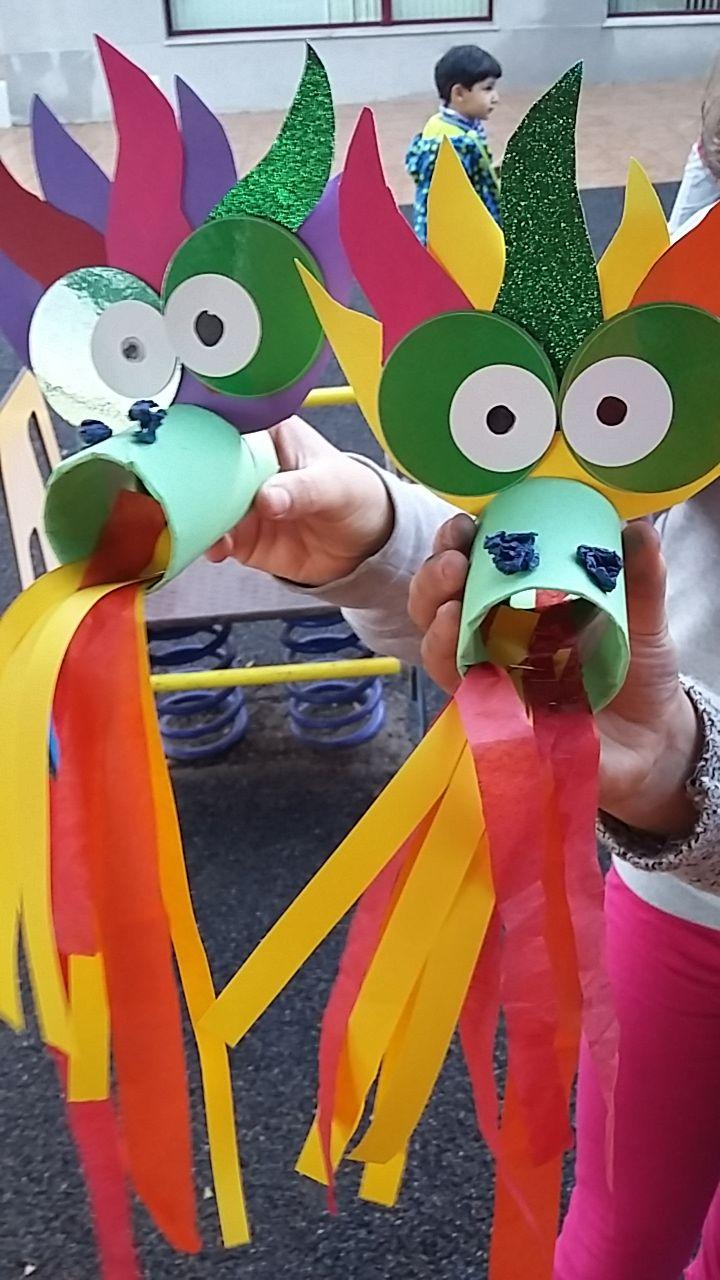 Mini Taller D Art Dragon Chino Manualidades Manualidades Sant Jordi Manualidades Escolares