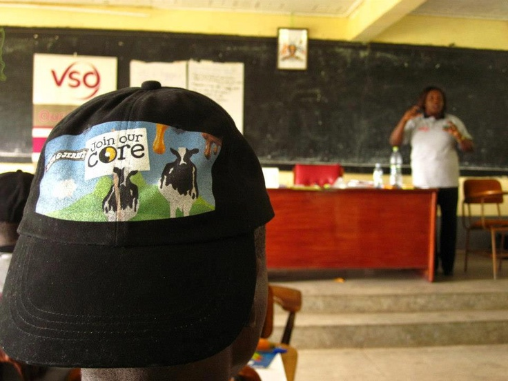 Ben and Jerry's development and Fair Trade work in Uganda.