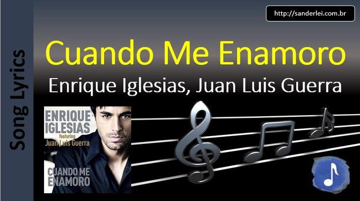 Enrique Iglesias - Somebody's Me (en Español) Lyrics ...