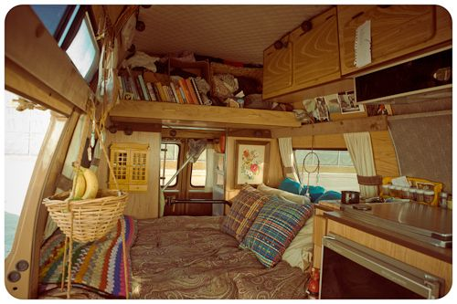 hippie van interior - Google Search