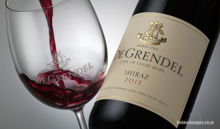 Wine Photography for Marketing & Advertising: De Grendel Shiraz 2012. www.bakkesimages.co.za