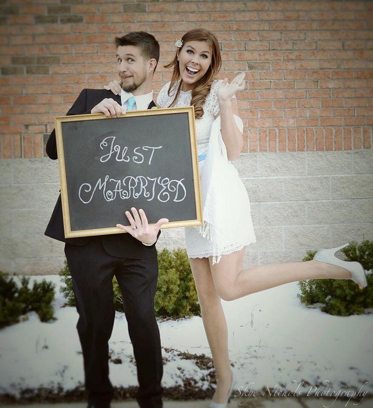 Courthouse wedding/ Eloped