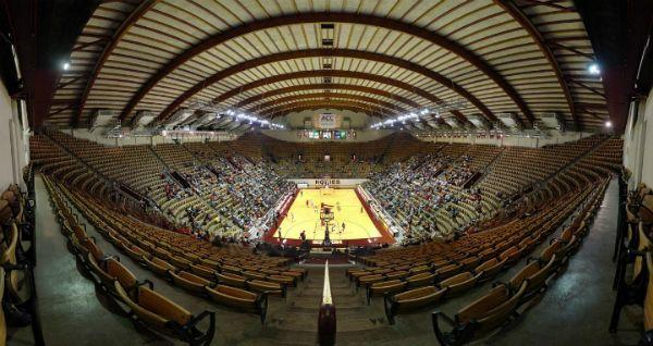 Cassell Coliseum Virginia Tech Hokies Virginia Tech Hokies Basketball Schedule Non Conference  http://www.hokienation.us/