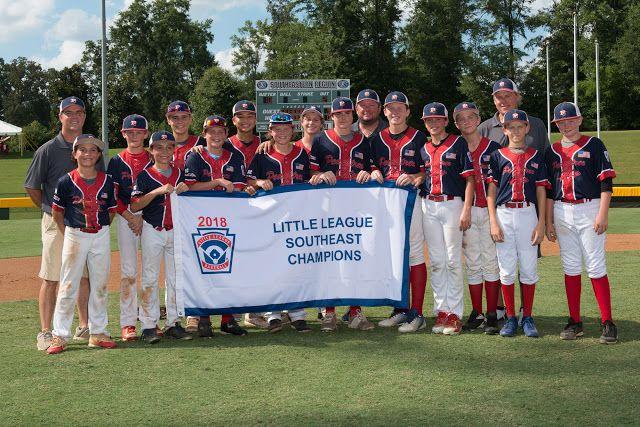 Little League News Georgia Earns Little League Baseball Southeast Re