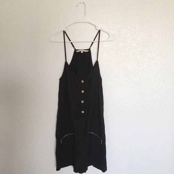 Black spring dress This dress so very breathable and comfortable ❤️️I do bundles and negotiate prices❤️ Rachel Roy Dresses Midi